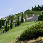 Picture - Bahai gardens in Haifa.