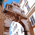 Picture - The historic Baroque Balbi's Arch in Rovinj.