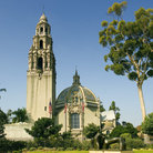 Picture - Former word exposition building at Balboa Park in San Diego.