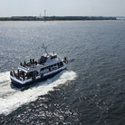 Picture - Ferry boat on route to Bald Head Island.