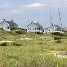 Picture - Homes along the shores of Bald Head Island.