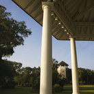 Picture - Gazebo in a park on Bald Head Island.