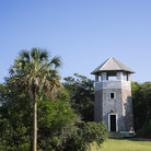Picture - Tower on Bald Head Island, North Carolina.