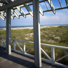 Picture - Beachfront deck on Bald Head Island, North Carolina.