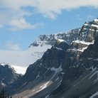 Picture - A glacier in Banff National Park.