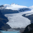 Picture - The Saskatchewan Glacier in Banff National Park.