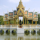 Picture - Palace Aisawan Thiphya-Art (Divine Seat of Personal Freedom) at Bang Pa-In, near Bangkok.