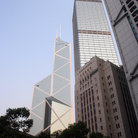 Picture - Hong Kong's Bank of China building.