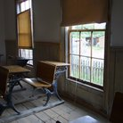 Picture - Old Bannack schoolhouse.