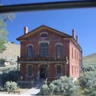 Picture - The old Meade Hotel at Bannack State Historic Park.