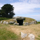 Picture - The Bant's Carn burial chamber at St. Mary's, Isles of Scilly.
