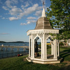 Picture - Gazebo in park, Bar Harbor, Maine.