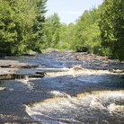 Picture - Canyon Falls in Baraga.