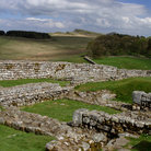 Picture - Housesteads Roman Fort on Hadrians Wall.