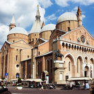 Picture - Cloudy skies over the Sant'Antonio Basilica in Padua.