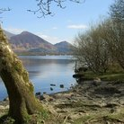 Picture - Bassenthwaite Lake in Cumbria.