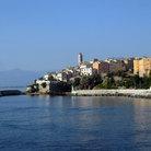 Picture - View of Bastia from the ocean.