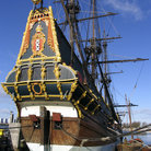 Picture - Batavia Sailing Ship in Lelystad.