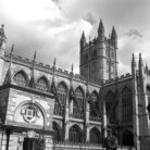 Picture - Exterior view of the Bath Cathedral.