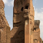 Picture - Baths of Caracalla / terme di caracalla in Rome.