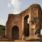 Picture - Ruins of Baths of Caracalla in Rome.