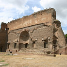 Picture - Baths of Caracalla in Rome.