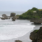 Picture - Coast and rock formations near Bathsheba.
