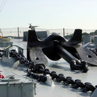 Picture - Anchor for the USS Massachusetts in Battleship Cove.