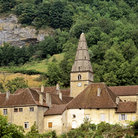Picture - The old abbey at Baume-les-Messieurs.