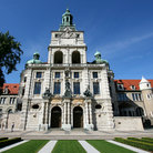 Picture - Front view of the Bavarian National Museum in Munich.
