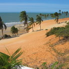Picture - Red Beach, Fortaleza.