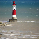 Picture - Lighthouse at Beachy Head.