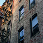 Picture - Fire escape at the rear of a Beacon Hill building.