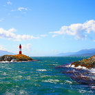 Picture - A lighthouse in the Beagle Channel.