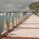 Picture - A waterfront walkway in Beaufort.