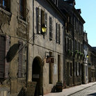 Picture - Cobbled street in Beaune.