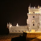 Picture - Torre de Belém at night, Lisbon's most famous construction and well known symbol.