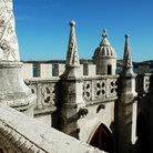 Picture - The top of the Tower of Belem.