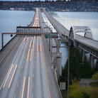 Picture - Highway over the water, Bellevue.