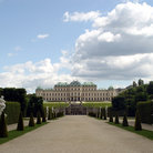 Picture - Belvedere Palace in Vienna.