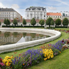 Picture - An image from Belvedere Palace in Vienna.
