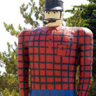 Picture - The Paul Bunyan lumberjack statue in Bemidji.