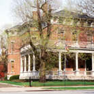 Picture - The President Benjamin Harrison Home in Indianapolis.