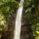 Picture - A large waterfall on the island of Bequia.