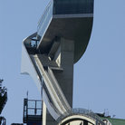 Picture - The ski-jump at Bergisel, Innsbruck in summer.