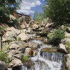 Picture - Waterfall in Betty Ford Garden, Vail.