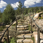 Picture - Rock Stairway in Betty Ford Garden, Vail.