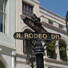 Picture - Rodeo Drive street sign in Los Angeles.