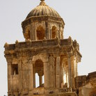 Picture - Dome of the palace in Bhuj.