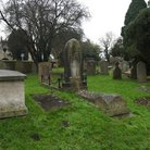 Picture - Churchyard in Bibury.